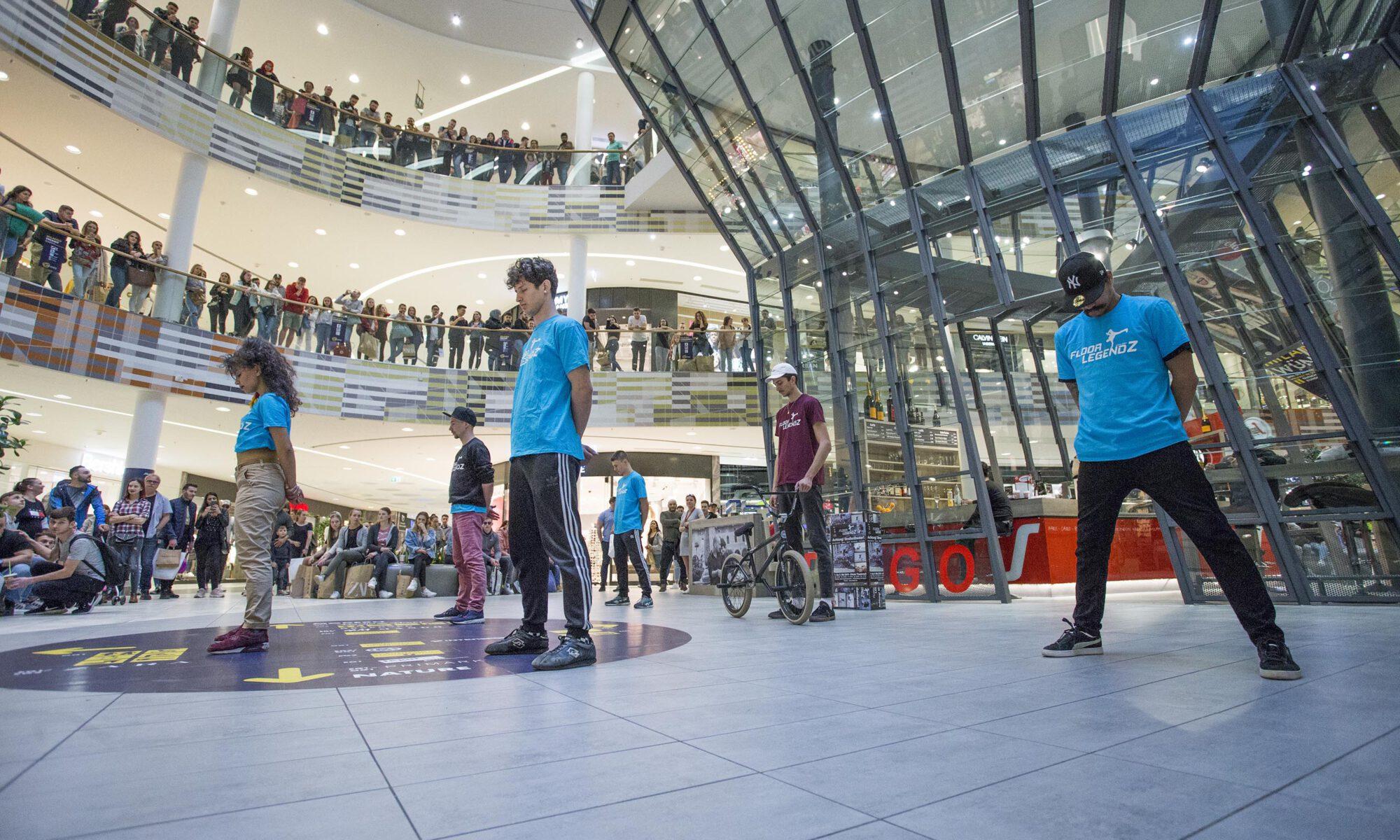 Milaneo Showcase Entertainment Stuttgart City Dance